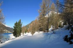 Im Skiurlaub Südtirol kehrt man gern in Skihütten ein