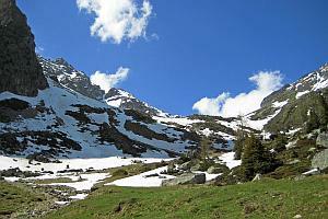 Wandern in der schönen Natur von Südtirol